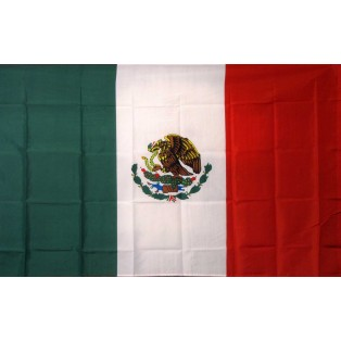 Mexico 3'x 5' Country Flag