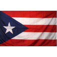PUERTO RICO  3'X 5' FLAG NYL-GLO NYLON