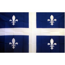 Quebec 3'x 5' Flag