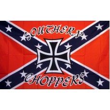 Rebel Southern Choppers 3'x 5' Novelty Flag