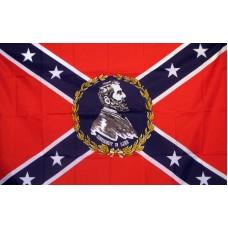 Rebel General Lee 3'x 5' Novelty Flag