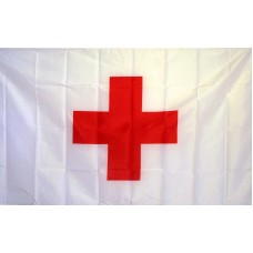International Red Cross Historical 3'x 5' Flag