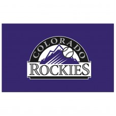 Colorado Rockies 3'x 5' Baseball Flag