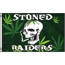 Stoned Raiders Premium 3'x 5' Flag