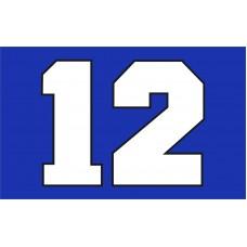 Seattle Seahawks BIG 12 3'x 5' NFL Flag