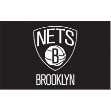 Brooklyn Nets 3'x 5' NBA Flag