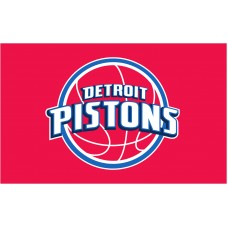 Detroit Pistons 3'x 5' NBA Flag