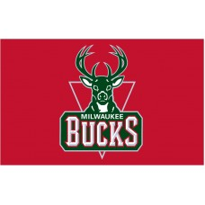 Milwaukee Bucks 3'x 5' NBA Flag