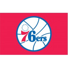 Philadelphia 76ers 3'x 5' NBA Flag