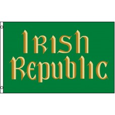IRISH REPUBLIC GREEN/ GOLD  POLY 3' X 5' FLAG