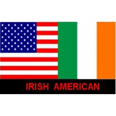 IRISH AMERICAN POLY 3' X 5' FLAG
