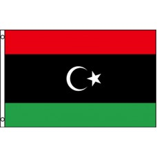 LIBYA (NEW) KINGDOM POLY 3' X 5' FLAG
