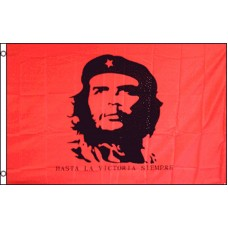 CHE RED POLY 3' X 5' FLAG