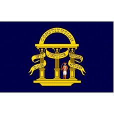 GEORGIA ORIGINAL POLY 3' X 5' FLAG