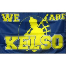 WE ARE KELSO 2X3  POLY FLAG