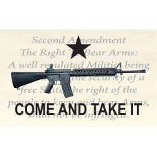 Come And Take It 2nd Amendment Custom 3'x 5' Flag