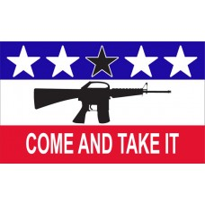 Come And Take It Patriotic Custom 3'x 5' Flag