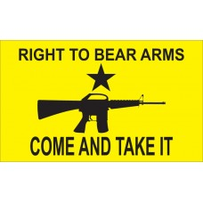 Come And Take It Right To Bear Arms Custom 3'x 5' Flag