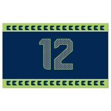 Seattle Seahawks 12th Man 2'x 3' NFL Flag