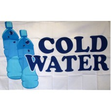 Cold Water 3'x 5' Advertising Flag