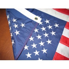 6'x10' Nylon Embroidered American Flag