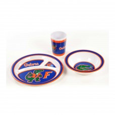 Florida Gators 3 Piece Kid's Dish Set