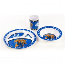 Kentucky Wildcats 3 pc Kid's Dish Set