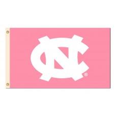 North Carolina Tar Heels Pink 3'x 5' Flag