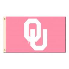 Oklahoma Sooners Pink 3'x 5' Flag