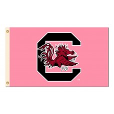 South Carolina Gamecocks Pink 3'x 5' Flag