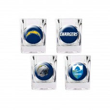 San Diego Chargers 4 pc Shot Glass Set