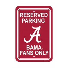 Alabama Crimson Tide 12-inch by 18-inch Parking Sign