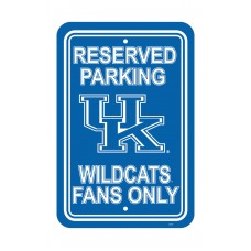 Kentucky Wildcats 12-inch by 18-inch Parking Sign