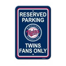 Minnesota Twins Parking Sign 12