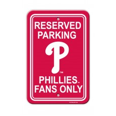 Philadelphia Phillies Parking Sign 12