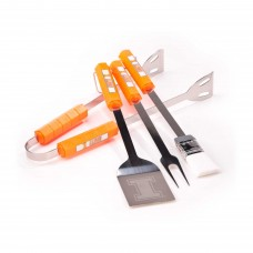 Illinois Fighting Illini 4 Piece BBQ Set