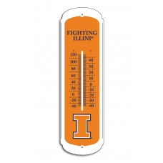 Illinois Fighting Illini 27-inch Thermometer