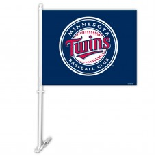 Minnesota Twins Two Sided Car Flag