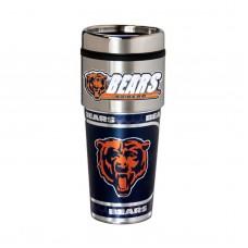 Chicago Bears Travel Mug 16oz Tumbler with Logo