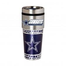Dallas Cowboys Travel Mug 16oz Tumbler with Logo