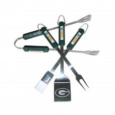 Green Bay Packers 4 Piece BBQ Set