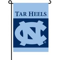 North Carolina Tar Heels Garden Banner Flag
