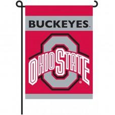 Ohio State Buckeyes Garden Banner Flag