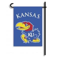 Kansas Jayhawks Garden Banner Flag