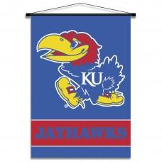 Kansas Jayhawks Indoor Scroll Banner
