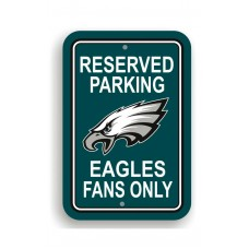 Philadelphia Eagles 12-inch by 18-inch Parking Sign