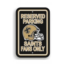 New Orleans Saints 12-inch by 18-inch Parking Sign