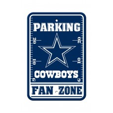 Dallas Cowboys 12-inch by 18-inch Parking Sign