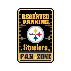 Pittsburgh Steelers 12-inch by 18-inch Parking Sign