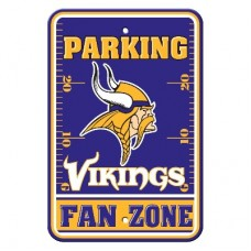 Minnesota Vikings 12-inch by 18-inch Parking Sign